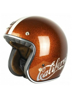 Casco Jet Origine Primo Cali Root Beer