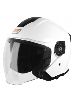 Casco Demi-Jet Origine Palio Blanco brillo