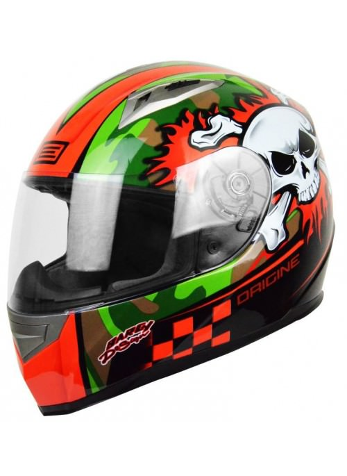 Casco Integral Origine Tonale Combat Orange