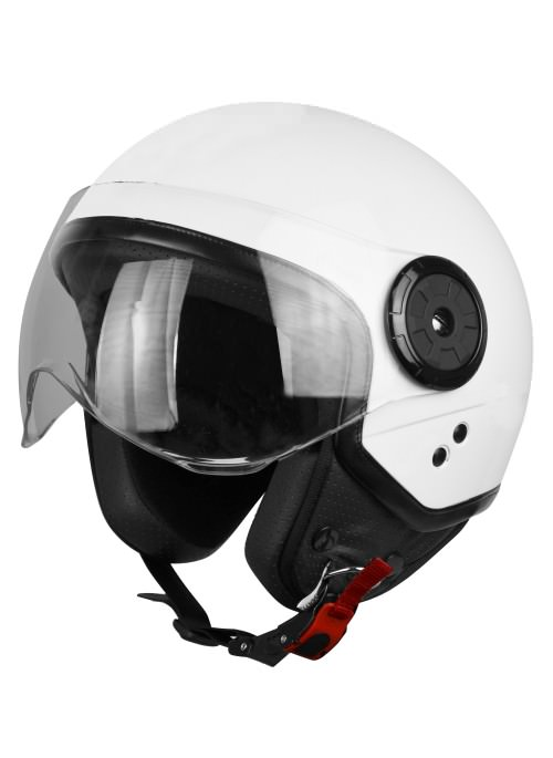 Casco Jet Origine Neon Blanco