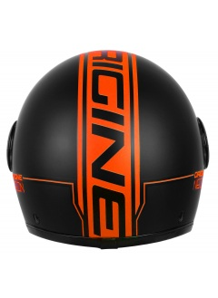 Capacete Jet Origine Neon Orange 2017