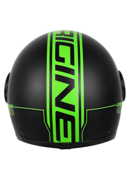 Casco Jet Origine Neon Green
