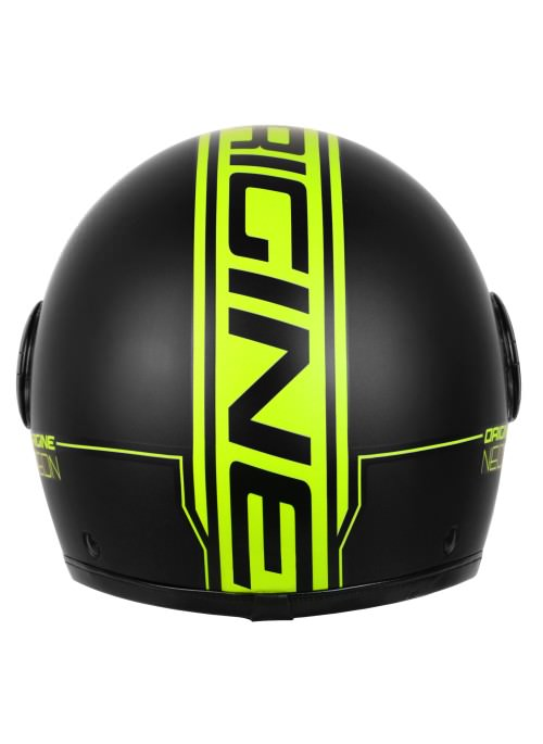 Casco Jet Origine Neon Yellow