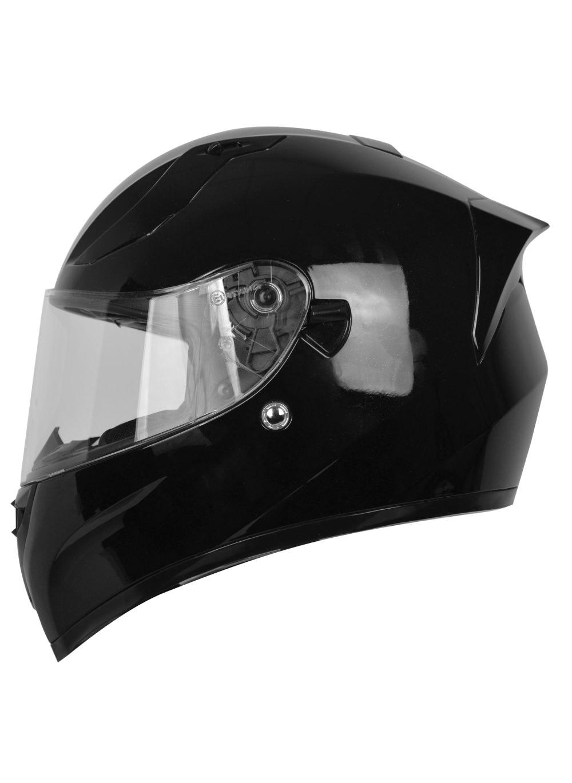 15f3ab58ac0 Casco de moto integral negro mate con Pinlock
