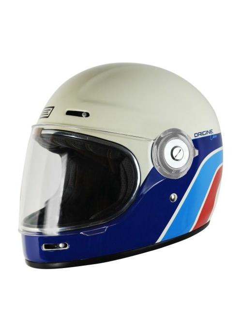 Origine Vega Classic White. Retro Full Face helmet