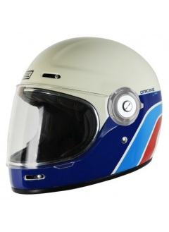 Casque full face retro Origine Vega Clasico Blanco