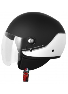Casco Jet Origine Mio Twin Black