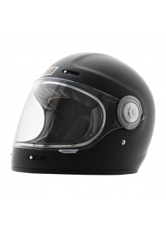 Origine Vega Black Matt Retro Full Face helmet