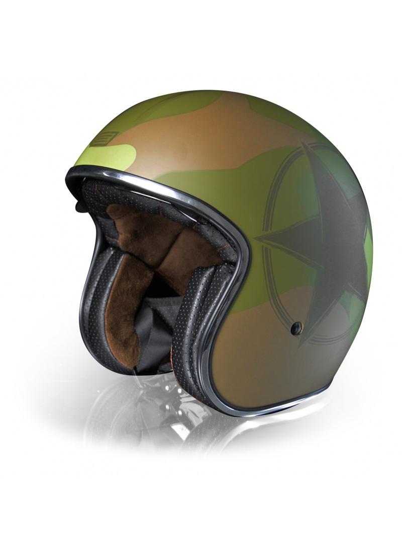 Casco Jet Origine Sprint Army