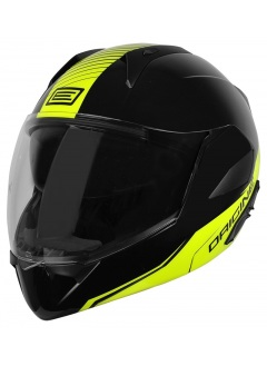 Casque Flip Up Riviera Line Yellow Black