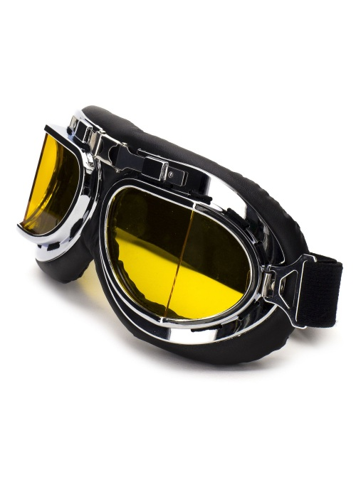 Retro biker goggle Type cafe racer