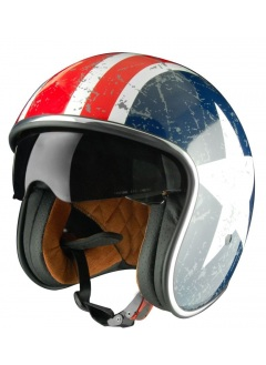 Casco Jet Origine Sprint Rebel Star Casco estilo capitan américa