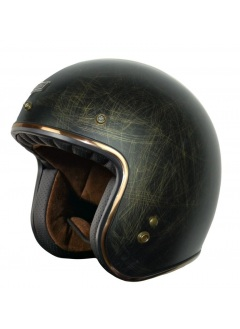 Jet helmet Origine Primo Scacco Bronze Old Metal Effect