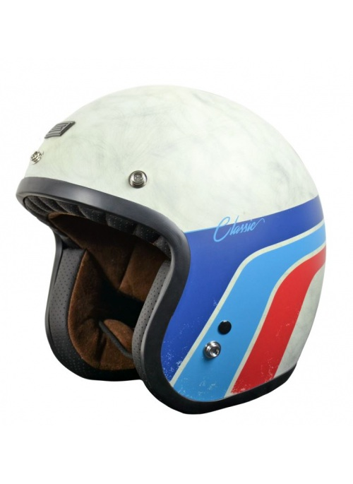 Jet helmet Origine Primo Classic White Matt Vintage