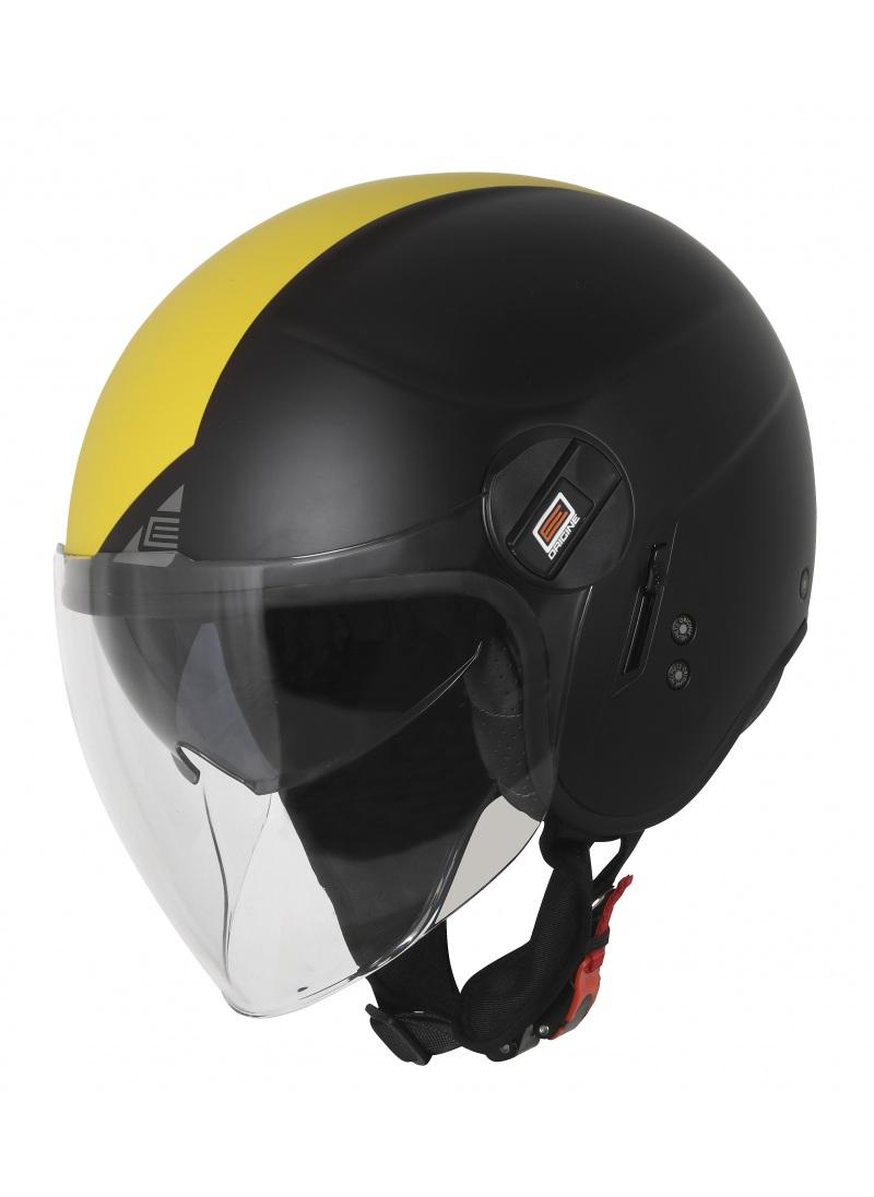 Motorcycle jet helmet Origine Alpha Black matt