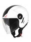 Motorcycle jet helmet Origine Alpha Next White/Black