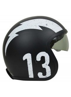 Casco Jet Origine Sprint Gasoline Black
