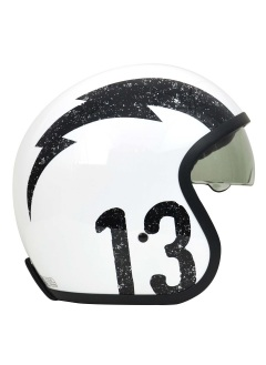 Casco Jet Origine Sprint Gasoline White