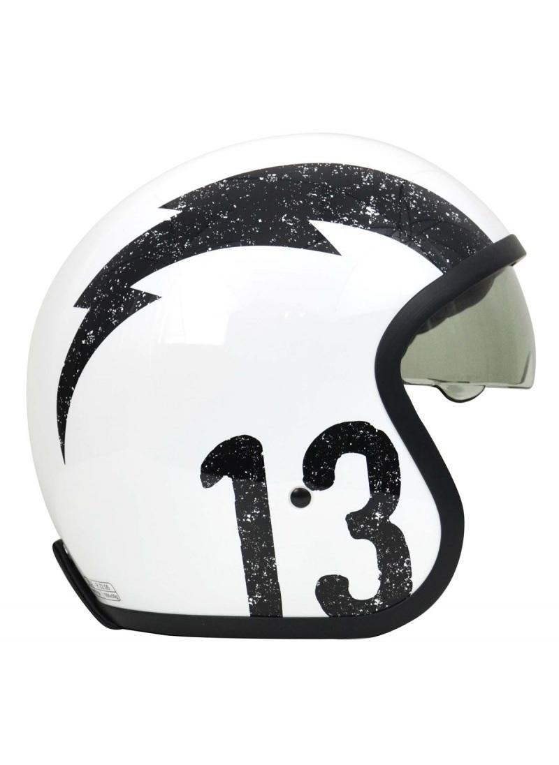 Jet helmet Origine Sprint Rebel Star Captain America style