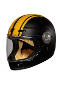 Origine Vega Vega Custom Matt Yellow. Retro Full Face helmet