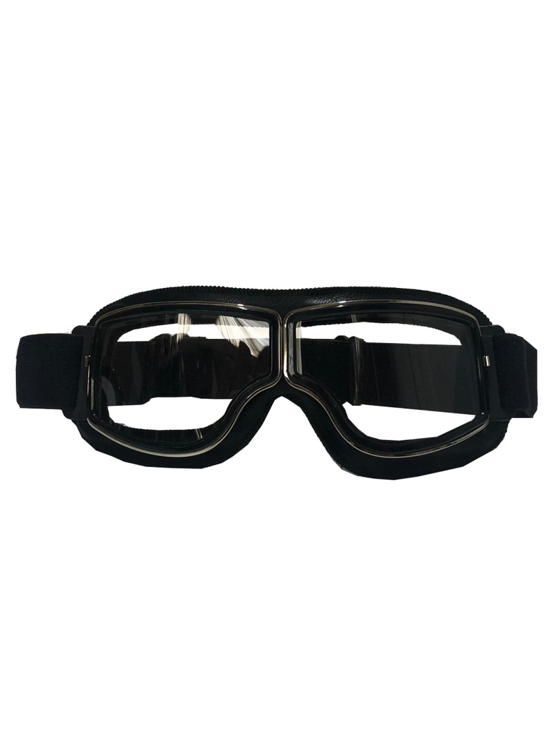 Motorcycle googles cafe racer retro clear