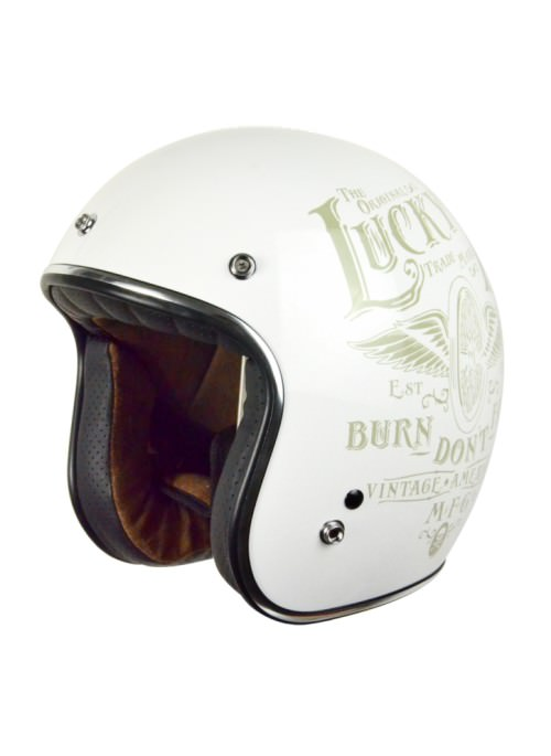 Capacete Jet Origine Primo Flying Wheel Blanco